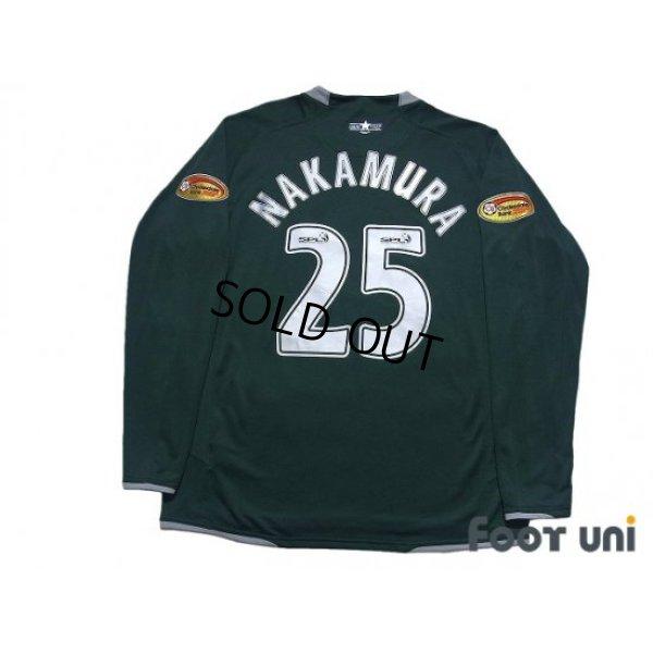 Photo2: Celtic 2007-2008 Away Long Sleeve Shirt #25 Shunsuke Nakamura Clydesdale Bank Patch/Badge