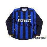 Inter Milan 2002-2003 Home Long Sleeve Shirt