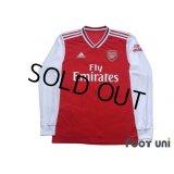Arsenal 2019-2020 Home Long Sleeve Shirt #8 Dani Ceballos