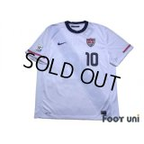 USA 2010 Home Shirt #10 Donovan FIFA World Cup South Africa 2010 Patch/Badge w/tags