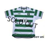 Celtic 2001-2003 Home Shirt #7 Henrik Larsson