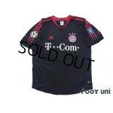 Bayern Munich 2004-2005 Cup Shirt #26 Deisler Champions League Patch/Badge Big Year Patch/Badge