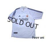 Real Madrid 2001-2002 Home Shirt First Half Model #3 Roberto Carlos LFP Patch/Badge