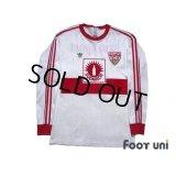 VfB Stuttgart 1989-1990 Home Long Sleeve Shirt