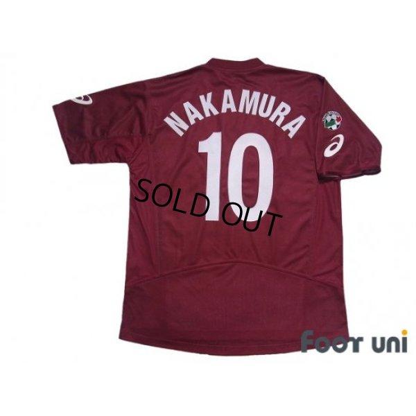 Photo2: Reggina 2003-2004 Home Shirt #10 Shunsuke Nakamura Lega Calcio Patch/Badge w/tags