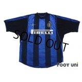 Inter Milan 2000-2001 Home Shirt #7 Robbie Keane
