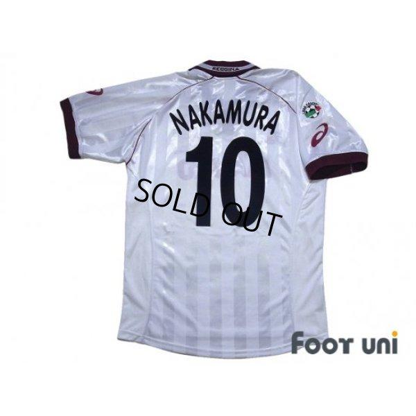 Photo2: Reggina 2002-2003 Away Shirt #10 Shunsuke Nakamura Lega Calcio Patch/Badge