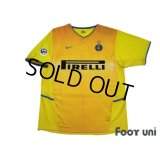 Inter Milan 2002-2003 3rd Shirt #4 Zanetti Lega Calcio Patch/Badge w/tags