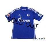 Schalke04 2014-2016 Home Shirt Bundesliga Patch/Badge