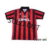 AC Milan 1995-1996 Home Shirt #18 Roberto Baggio