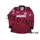 Reggina 2002-2003 Home Long Sleeve Shirt #10 Shunsuke Nakamura Lega Calcio Patch/Badge