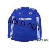Chelsea 2009-2010 Home Long Sleeve Shirt #10 Joe Cole