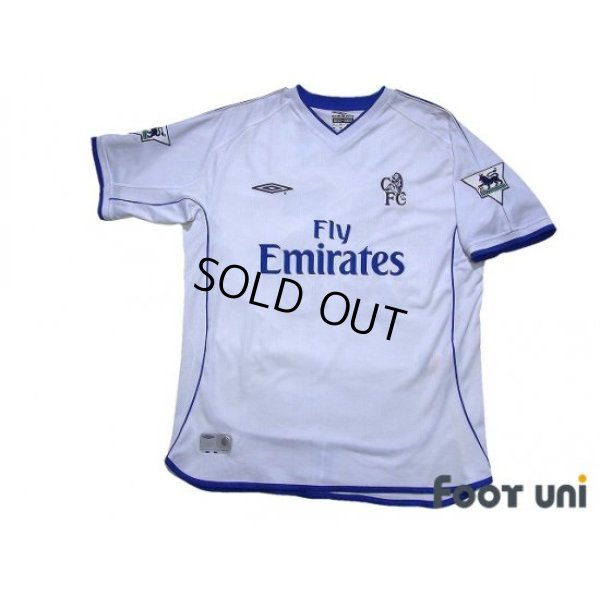 Photo1: Chelsea 2001-2003 Away Shirt #25 Zola The F.A. Premier League Patch/Badge w/tags