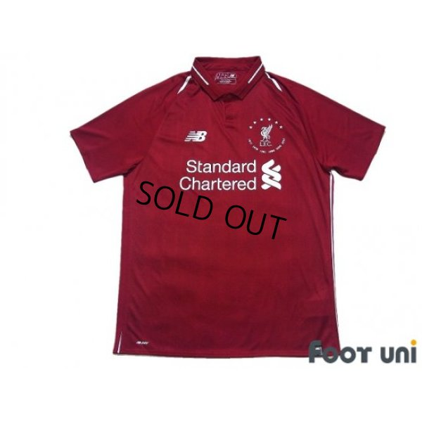 Photo1: Liverpool 2018-2019 Home Shirt CL Victory Commemorative Model w/tags