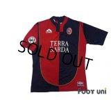 Cagliari 2004-2005 Home Shirt #10 Zola Lega Calcio Patch/Badge w/tags