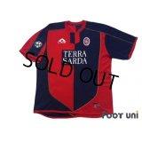 Cagliari 2003-2004 Home Shirt #10 Zola Lega Calcio Patch/Badge w/tags