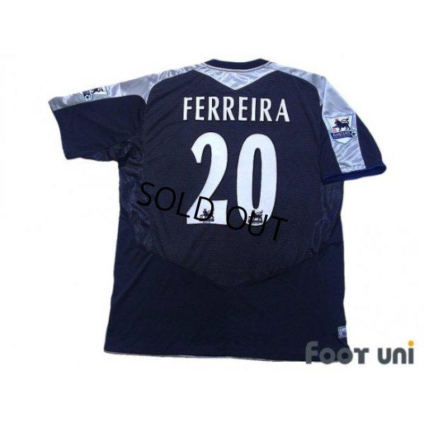 Photo2: Chelsea 2004-2005 Away Shirt #20 Paulo Ferreira BARCLAYS PREMIERSHIP Patch/Badge