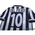 Photo4: Juventus 1996-1997 Home Shirt #10 Del Piero Late model