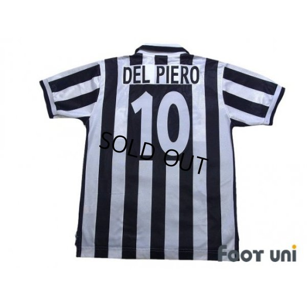 Photo2: Juventus 1996-1997 Home Shirt #10 Del Piero Late model