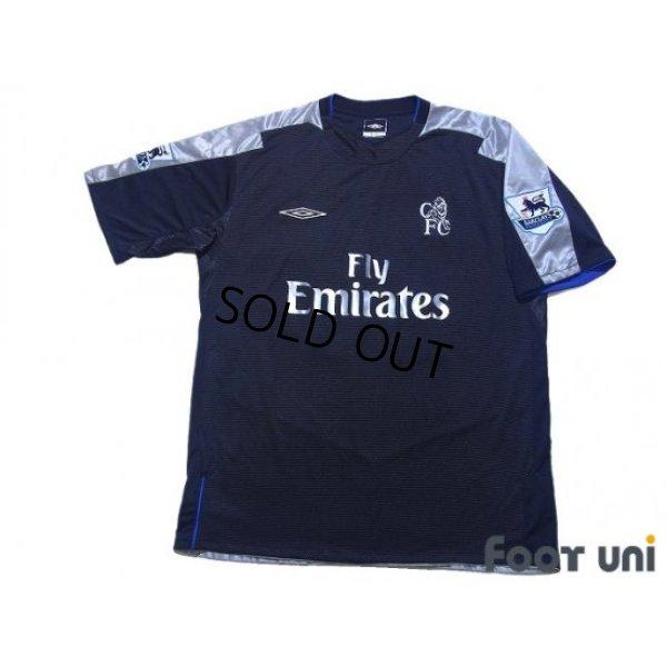 Photo1: Chelsea 2004-2005 Away Shirt #20 Paulo Ferreira BARCLAYS PREMIERSHIP Patch/Badge