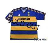 Parma 2002-2003 Home Shirt #10 Hidetoshi Nakata Lega Calcio Patch/Badge