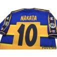 Photo4: Parma 2002-2003 Home Shirt #10 Hidetoshi Nakata Lega Calcio Patch/Badge