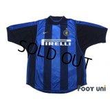 Inter Milan 2000-2001 Home Shirt #9 Ronaldo