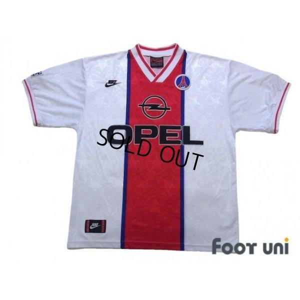 Photo1: Paris Saint Germain 1995-1996 Away Shirt
