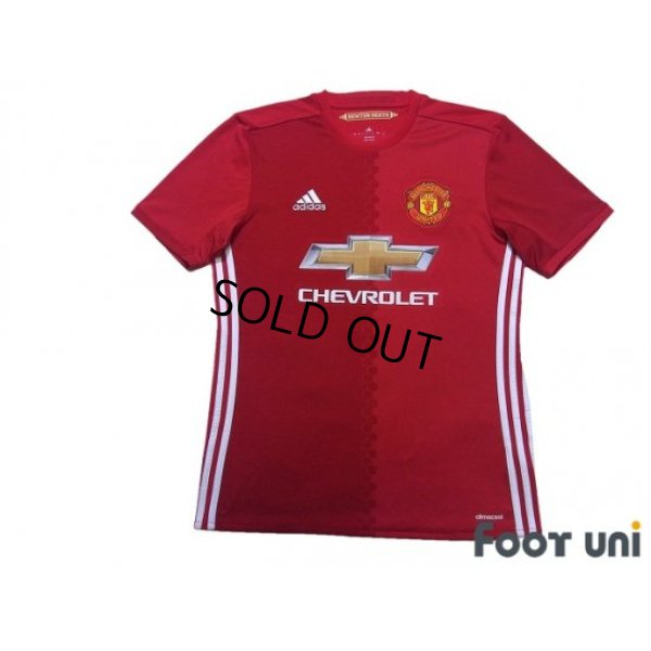 Photo1: Manchester United 2016-2017 Home Shirt #9 Zlatan Ibrahimović