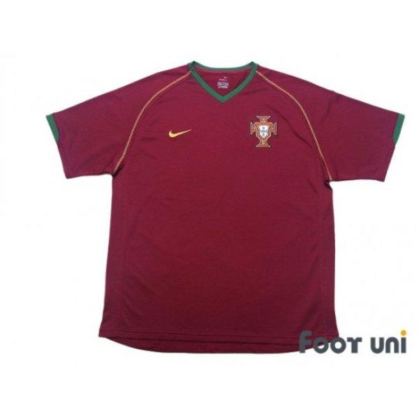 Photo1: Portugal 2006 Home Shirt