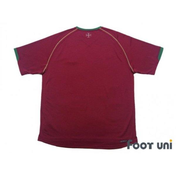 Photo2: Portugal 2006 Home Shirt