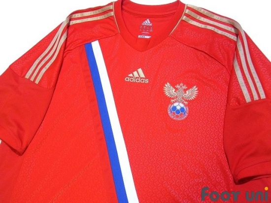 9647a70e Clothing, Shoes & Accessories adidas Russia Euro 2012 Home Soccer Jersey  Brand New Red Activewear