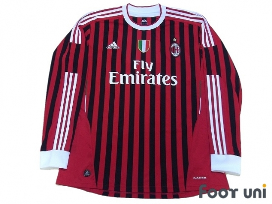 621019f617c AC Milan 2011-2012 Home Long Sleeve Shirt  9 Inzaghi Scudetto Patch Badge  w tags  ACM12H0916304