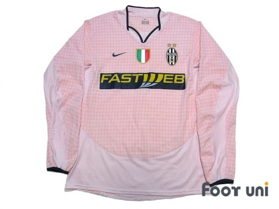 a2541bd4165 Juventus 2003-2004 Away Long Sleeve Shirt Scudetto Patch Badge   JUV34A0016312