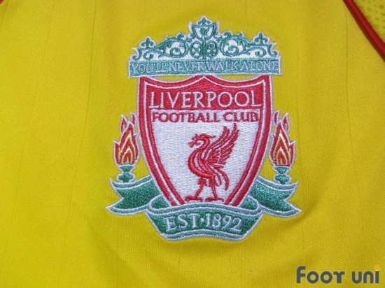 9b853ff37 Liverpool 2006-2007 Away Shirt - Online Store From Footuni Japan