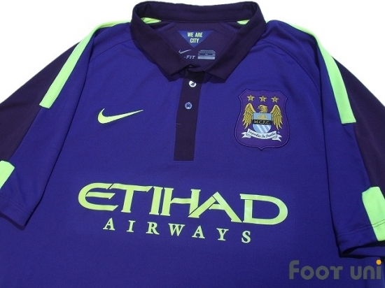 newest c96bd 7c3d1 Manchester City 2014-2015 3RD Shirt