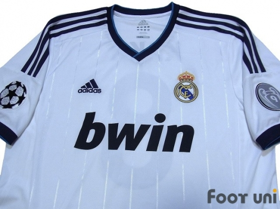 08b176791 Real Madrid 2012-2013 Home Shirt  8 Kaka Champions League Trophy  Patch Badge Champions League Patch Badge  RMD23H0817501