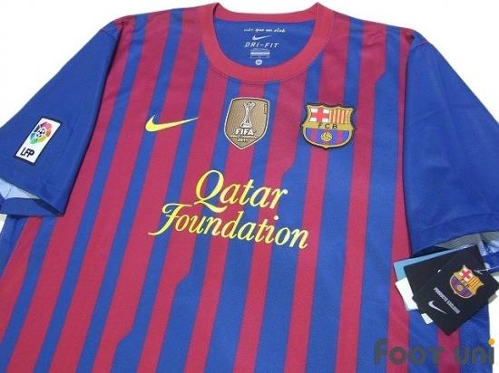 best service 8d99f db557 Barcelona 2011-2012 Home Shirt #4 Fabregas - Online Store ...
