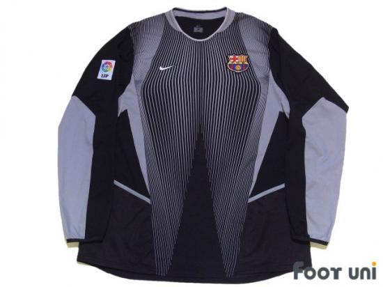buy popular 2d376 6c26f Barcelona 2002-2003 GK Long Sleeve Shirt LFP Patch/Badge