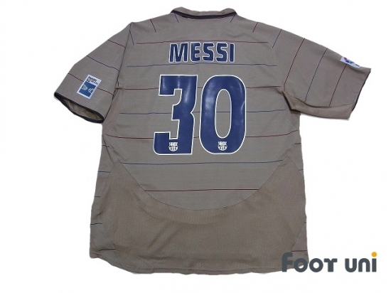sports shoes 19964 c7f86 Barcelona 2004-2005 3RD Shirt #30 Messi LFP Patch/Badge nike ...