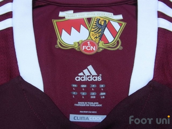 258806b10e1 1.FC nurnberg 2012-2013 Home Shirt adidas Bundesliga - Football ...