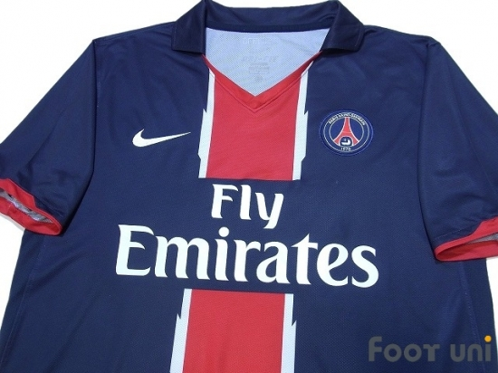 11a24021efb Paris Saint Germain 2010-2011 Home Shirt - Online Store From Footuni ...