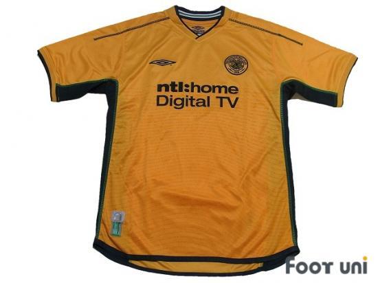 9984f46c4 Celtic 2002-2003 Away Shirt umbro Scottish Premiership - Football ...