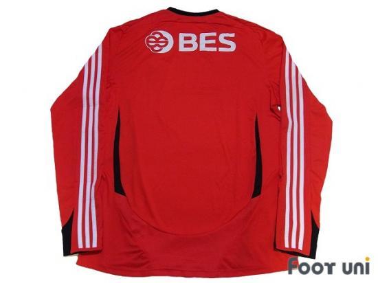 5d519213de2 Benfica 2008-2009 Home L/S Shirt w/tags adidas Primeira Liga ...