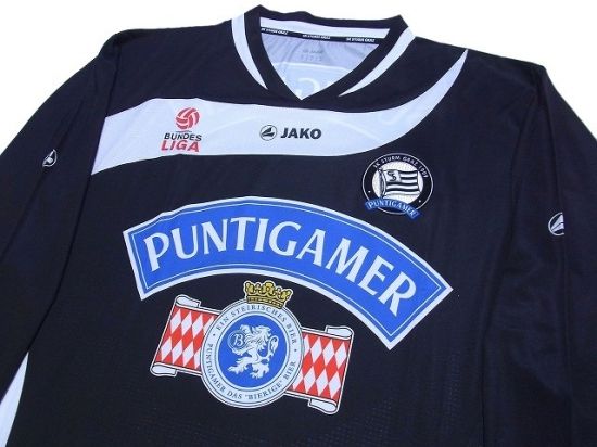 Sturm Graz 2011 2012 Home L S Shirt W Tags Jako Europe League Others Football Shirts Soccer Jerseys Vintage Classic Retro Online Store From Footuni Japan