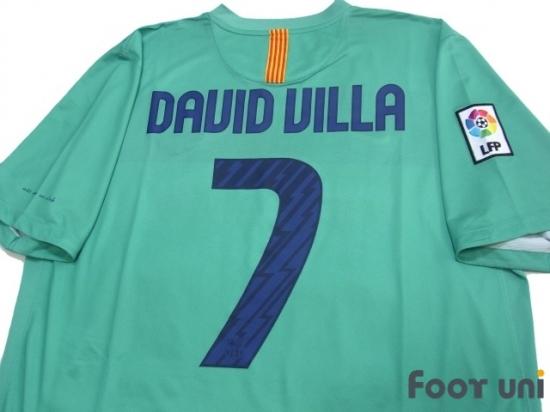 new product 67c4e fa74a Barcelona 2010-2011 Away Shirt #7 David Villa - Online Store ...