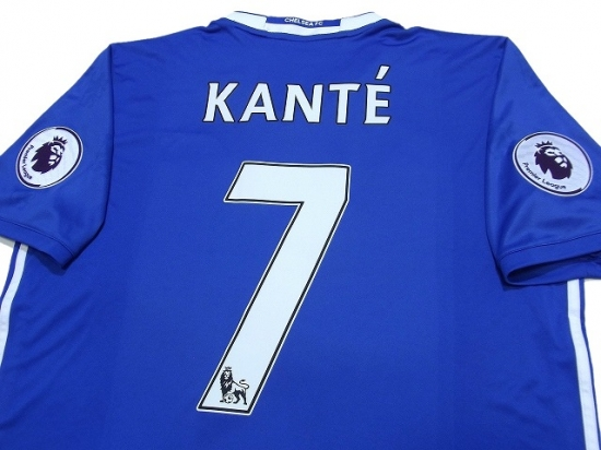 best service ebc95 104c8 Chelsea 2016-2017 Home Shirt #7 Kante - Online Store From ...