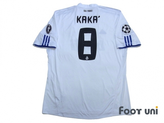 more photos 3122c 54d9c Real Madrid 2010-2011 Home Shirt #8 Kaka - Online Store From ...