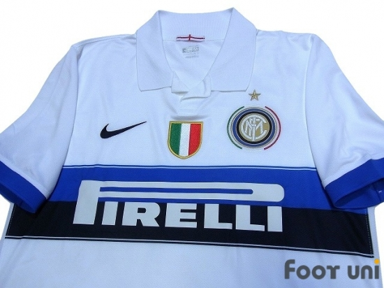 newest f5cfc 3ab4f Inter Milan 2009-2010 Away Shirt - Online Store From Footuni ...