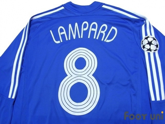 Chelsea 2006 2008 Home Long Sleeve Shirt #8 Lampard Online